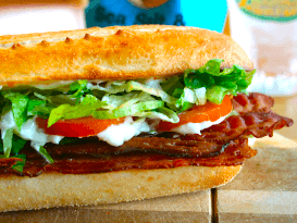 #13 Bacon Lettuce Tomato Club, BLT