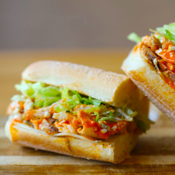 Pick 2 Menu Buffalo Chicken Sandwich
