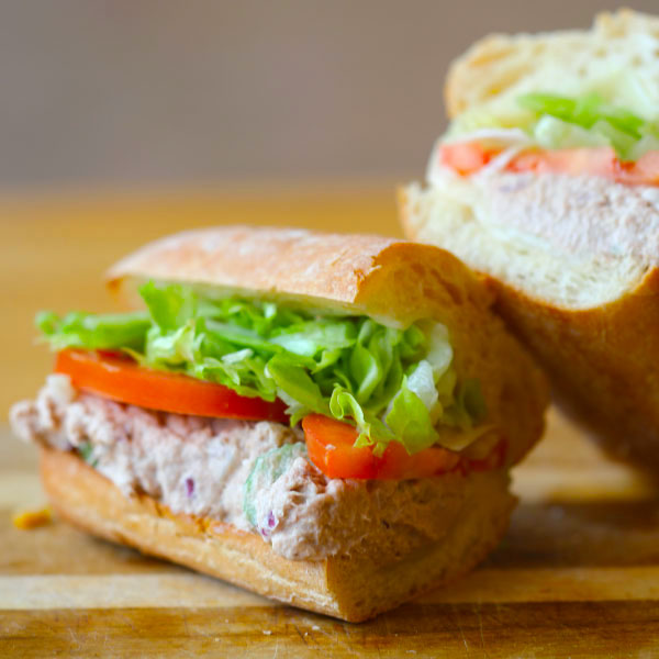 Pick 2 Menu Tuna Sandwich