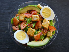 Pick 2 Menu Avocado Cobb Salad