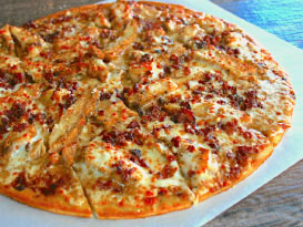 Pickleman's Asiago Chicken Pizza