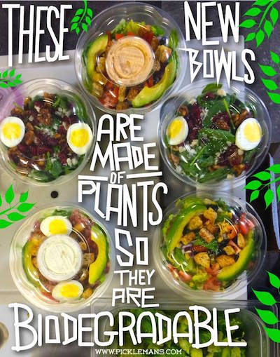 recycled salad bowls