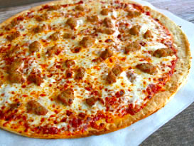 Pickleman's Italian Sausage Pizza