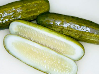 Pickles, Whold, Half