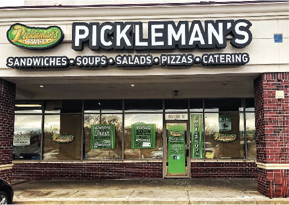 West Lawrence Pickleman's Storefront
